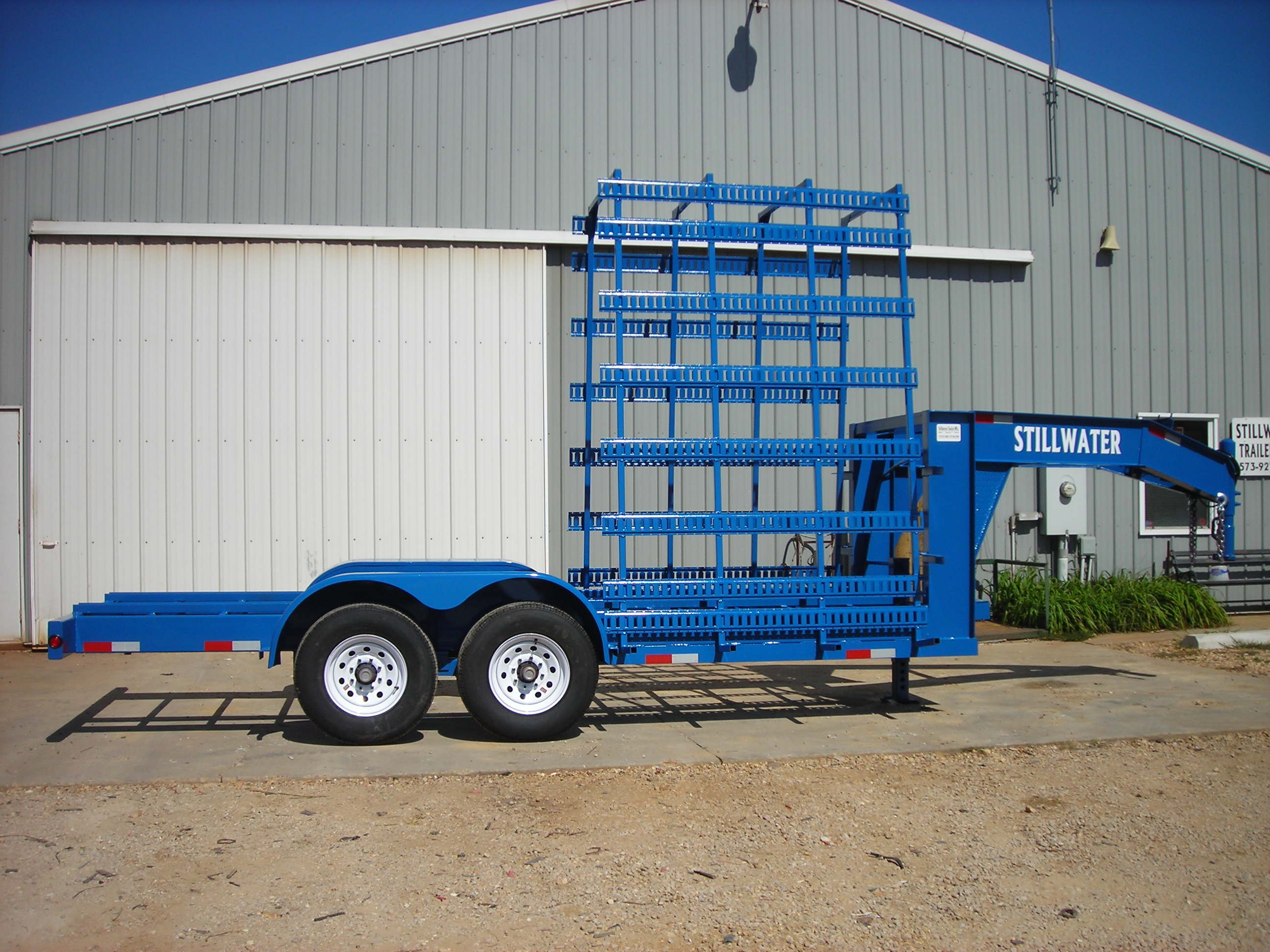Glass Hauling Trailer